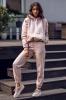 Фото - Пудрово-розовые хлопковые брюки Spodnie dresowe DK02F 05 Dreskod DresKod купить в Киеве и Украине